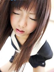 Innocent looking asian girl MahiruTsubaki