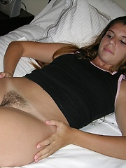 Amateur Freckled Face Teen Strips Out Of Her Pajamas