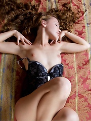 Virginia Sun brightens up the bedroom as she flaunts her slim, nubile body with her sweet, endearing looks and youthful, tender body.
