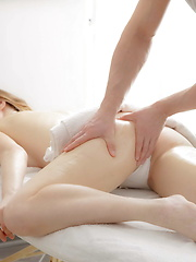 Teenage pussy is craving for hot internal massage
