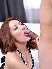 Yuna Hirose threesome sex